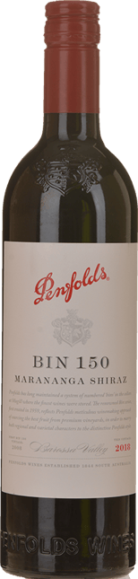 PENFOLDS Bin 150 Marananga Shiraz, Barossa Valley 2018