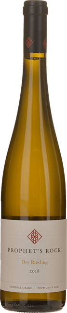 PROPHET'S ROCK WINES Dry Riesling, Central Otago 2018