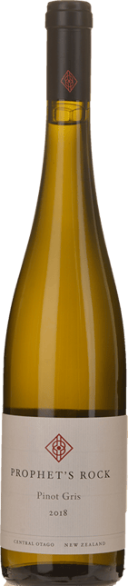 PROPHET'S ROCK WINES Pinot Gris, Central Otago 2018