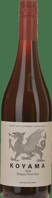 KOYAMA Pinot Noir, Waipara 2018