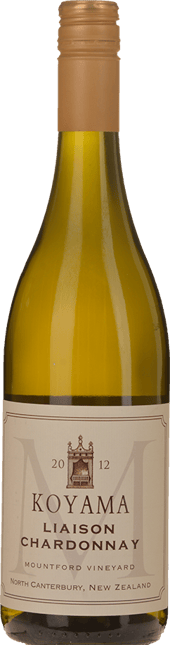 KOYAMA Mountford Vineyard Liason Chardonnay, Waipara 2012