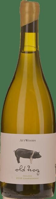ATTWOODS Old Hog Chardonnay, Geelong 2018