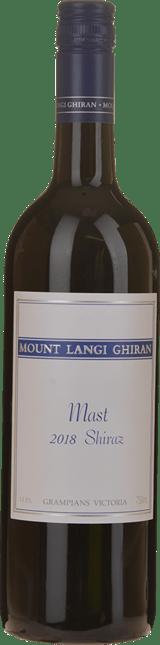 MOUNT LANGI GHIRAN VINEYARDS The Mast Shiraz, Grampians 2018