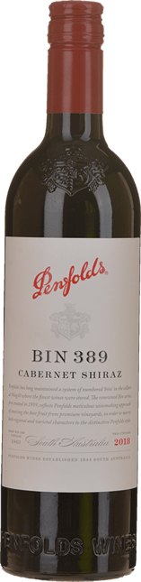 PENFOLDS Bin 389 Cabernet Shiraz, South Australia 2018