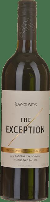 FOWLES WINE The Exception Cabernet Sauvignon, Strathbogie Ranges 2013