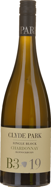 CLYDE PARK VINEYARD Single Block B3 Chardonnay, Geelong 2019