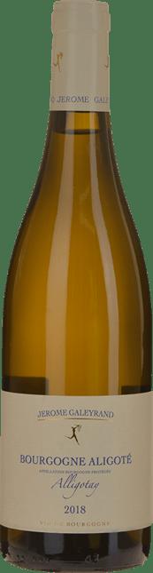 DOMAINE JEROME GALEYRAND Cuvee Alligotay , Bourgogne Blanc 2018