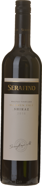 SERAFINO Malpas Vineyard Shiraz, McLaren Vale 2016