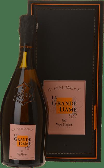 VEUVE CLICQUOT PONSARDIN La Grande Dame Rose, Champagne 2008