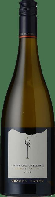 CRAGGY RANGE WINERY Gimblett Gravels Les Beaux Cailloux Chardonnay, Hawkes Bay 2018