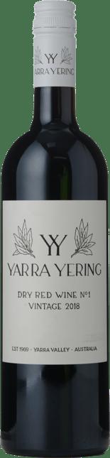 YARRA YERING Dry Red Wine No.1 Cabernets, Yarra Valley 2018