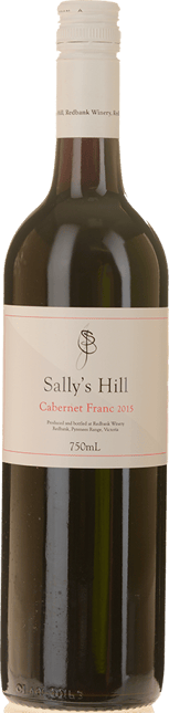 REDBANK WINERY Sally's Hill Cabernet Franc, Pyrenees 2015