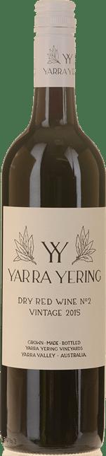 YARRA YERING Dry Red Wine No.2 Shiraz, Yarra Valley 2015