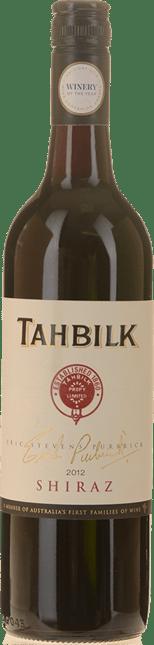TAHBILK WINES Eric Stevens Purbrick Shiraz, Nagambie Lakes 2012