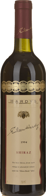 HARDY'S Eileen Hardy Shiraz, South Australia 1994