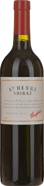 PENFOLDS St. Henri Shiraz, South Australia 2012