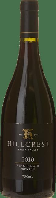 HILLCREST VINEYARDS Premium Pinot Noir, Yarra Valley 2010