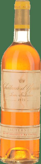 CHATEAU D'YQUEM 1er cru superieur, Sauternes 1975