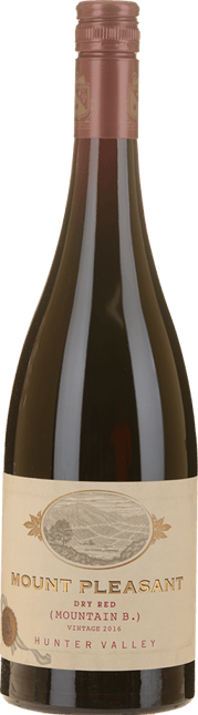 MOUNT PLEASANT Mountain B Dry Red, Hunter Valley 2016