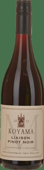 KOYAMA Mountford Vineyard Liaison Pinot Noir, Waipara 2013