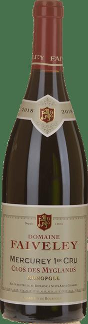 DOMAINE FAIVELEY Clos des Myglands 1er cru Monopole Pinot Noir, Mercurey 2018