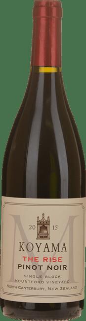 KOYAMA Mountford Vineyard The Rise Pinot Noir, Waipara 2015