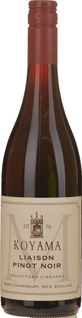 KOYAMA Mountford Vineyard Liason Pinot Noir, Waipara 2016