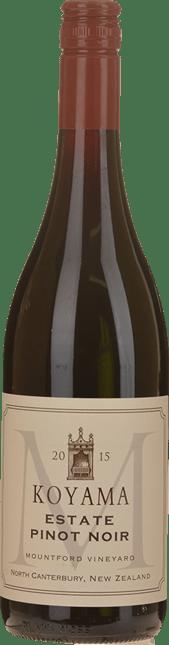 KOYAMA Mountford Vineyard Estate Pinot Noir, Waipara 2015