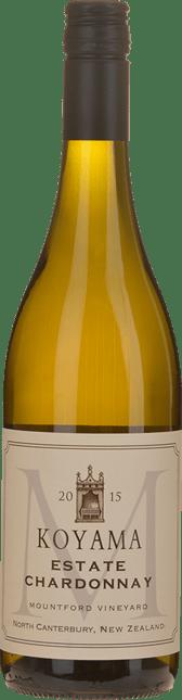 KOYAMA Mountford Vineyard Estate Chardonnay, Waipara 2015