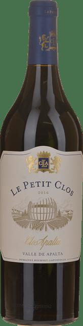 CASA LAPOSTOLLE Le Petit Clos, Clos Apalta Cabernet Merlot, Colchagua 2016