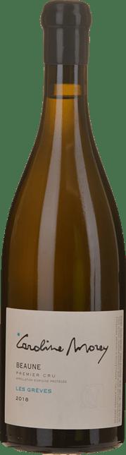 CAROLINE MOREY 1er cru Greves Blanc, Beaune 2018