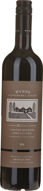 WYNNS COONAWARRA ESTATE Michael Shiraz, Coonawarra 2015