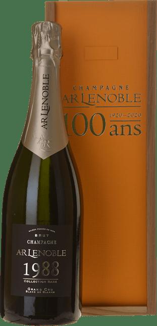 AR LENOBLE Millesime Centenary Celebration Grand Cru Blanc de Blancs, Champagne 1988