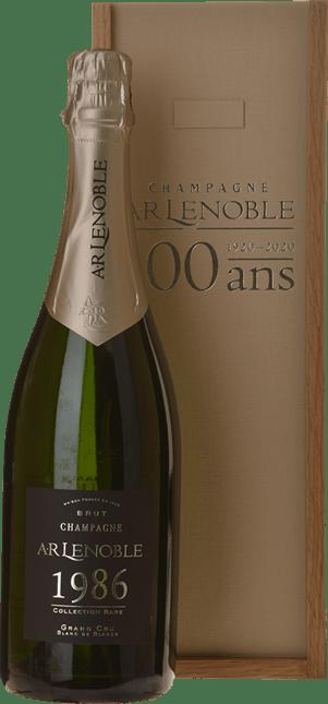 AR LENOBLE Millesime Centenary Celebration Grand Cru Blanc de Blancs, Champagne 1986