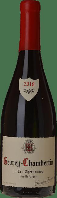 DOMAINE FOURRIER Cherbaudes Vieille Vigne 1er cru, Gevrey-Chambertin 2018
