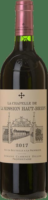 LA CHAPELLE DE LA MISSION HAUT-BRION Second Wine of Chateau La Mission Haut-Brion, Graves 2017