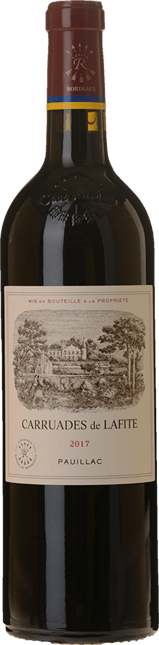 CARRUADES DE LAFITE Second wine of Chateau Lafite, Pauillac 2017