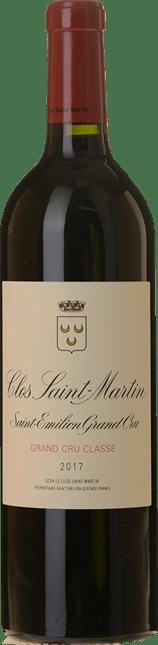 CLOS SAINT-MARTIN Grand cru classe, St-Emilion 2017