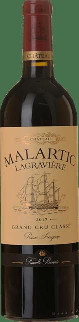 CHATEAU MALARTIC-LAGRAVIERE Rouge Cru classe, Graves 2017