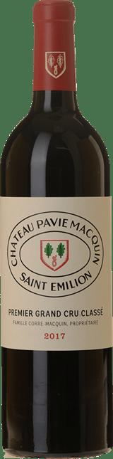 CHATEAU PAVIE-MACQUIN 1er grand cru classe (B), St-Emilion 2017