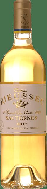 CHATEAU RIEUSSEC 1er cru classe, Sauternes 2017