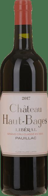 CHATEAU HAUT-BAGES-LIBERAL 5me cru classe, Pauillac 2017