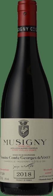 DOMAINE COMTE GEORGES DE VOGUE Grand Cru Cuvee Vieilles Vignes , Musigny 2018