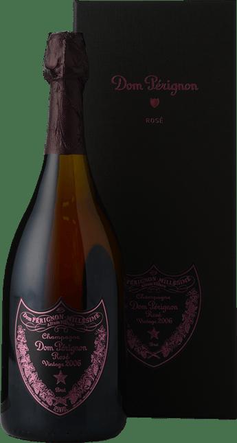 MOET & CHANDON Cuvee Dom Perignon Rose, Champagne 2006