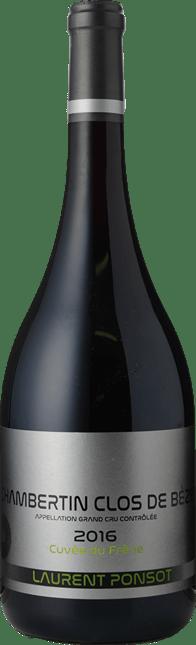 LAURENT PONSOT Grand Cru Cuvée du Frêne, Chambertin-Clos de Beze  2016