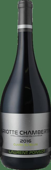 LAURENT PONSOT Grand Cru Cuvée du Saule, Griotte-Chambertin 2016