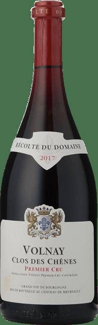 DOMAINE DE CHATEAU DE MEURSAULT 1er Cru Clos de Chenes , Volnay 2017