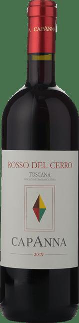 CAPANNA Rosso del Cerro , Toscana IGT 2019