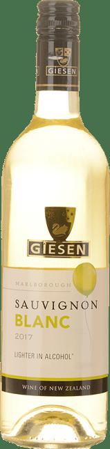 GIESEN ESTATE WINES Lighter In Alcohol Sauvignon Blanc, Marlborough 2017