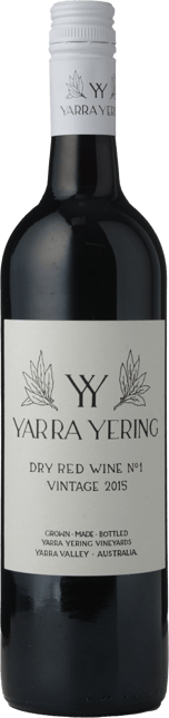 YARRA YERING Dry Red Wine No.1 Cabernets, Yarra Valley 2015